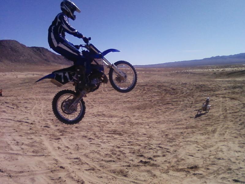 Motocross su dune (foto internet)