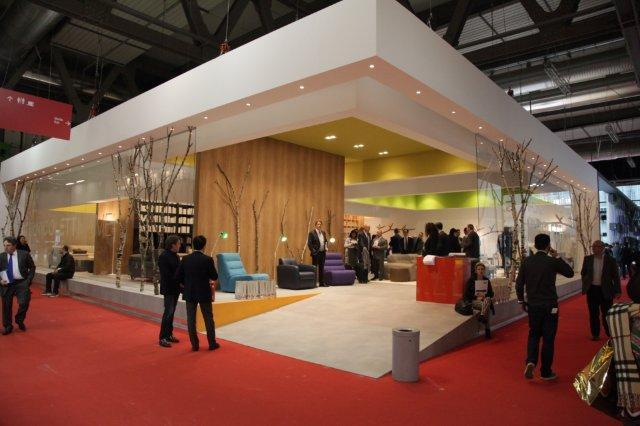 Nicolettihome al salone internazionale del mobile di for Salone del mobile stand