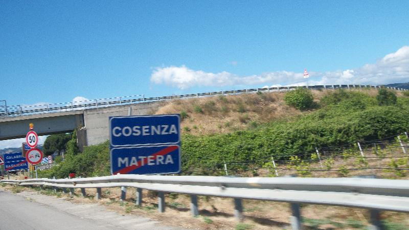 Nova Siri - confine Provincia di Cosenza (foto SassiLand)