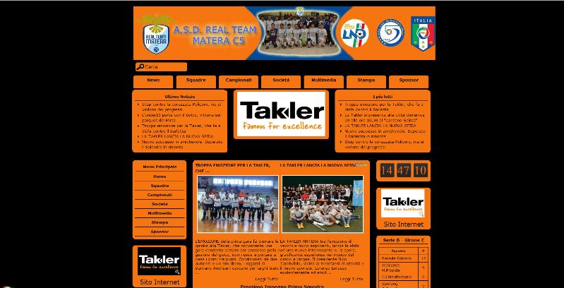 Nuovo sito internet per la Takler Matera