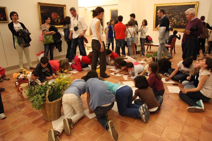 Omaggio alla primavera - Laboratorio didattico - La Notte dei Musei 2013