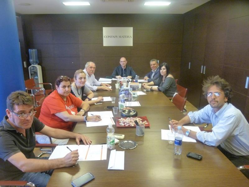 Organismo Paritetico Regionale di Confapi Matera  in materia di salute e sicurezza