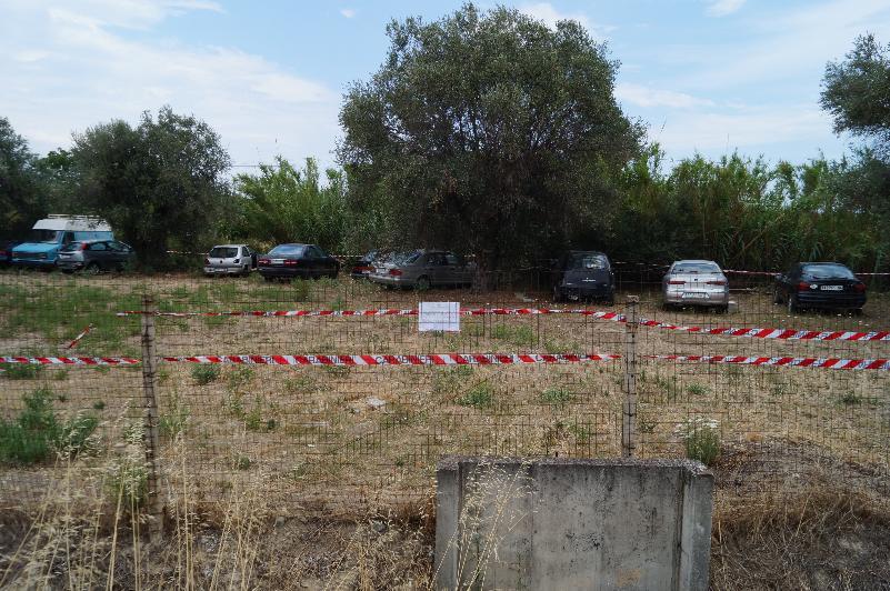 Policoro, area deposito di rifiuti speciali e pericolosi