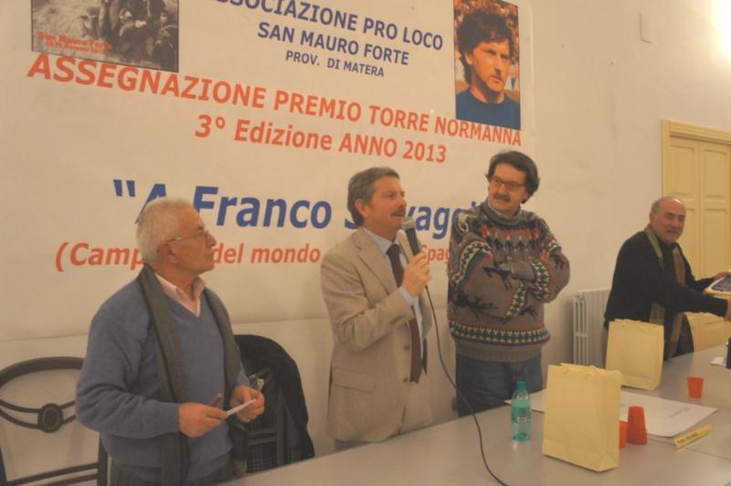 Premiazione di Franco Selvaggi