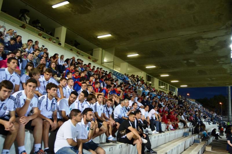 Pubblico allo Scirea Cup 2013