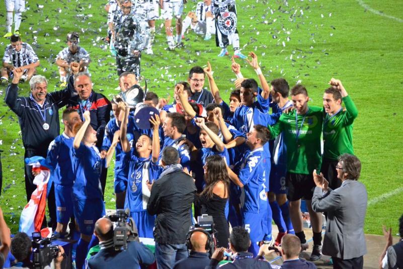 Scirea Cup 2013, premiazione