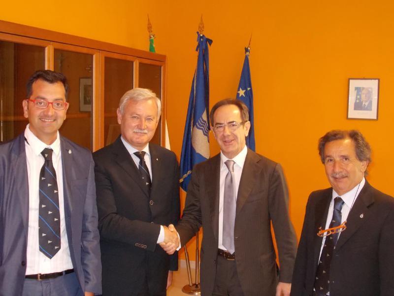 Sezione della Lega Navale Italiana di Matera-Castellaneta, visita istituzionale