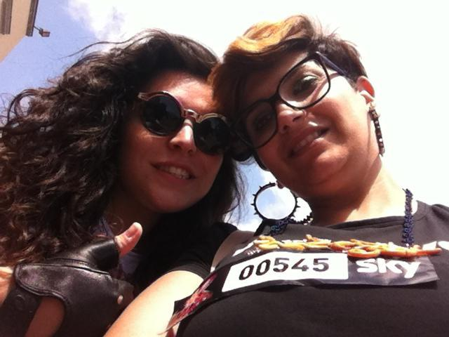 Simona Coretti e Carla Volpe