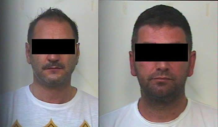 S.P. e V.L. arrestati dai Carabinieri