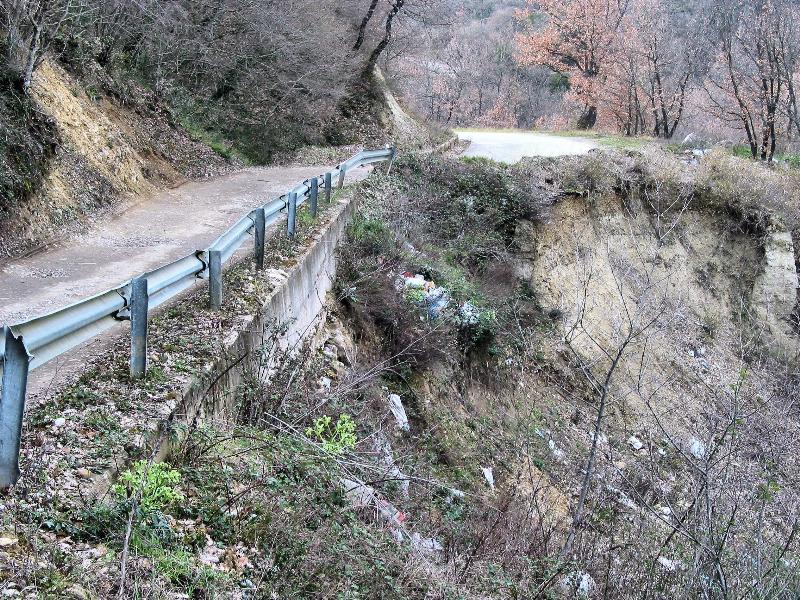 Strada comunale  Alvanello