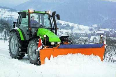 Trattore per neve