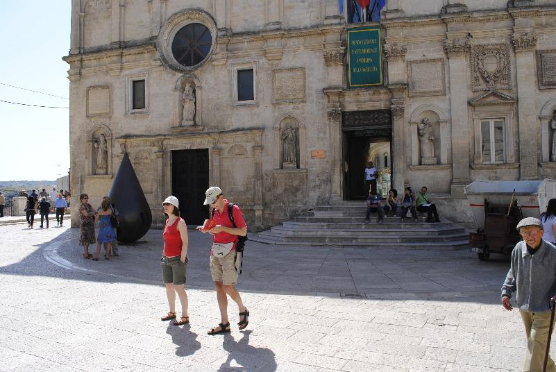 Turisti a Matera (foto SassiLand)