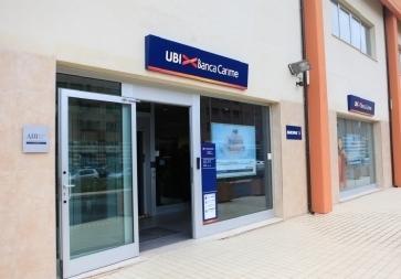 Uno sportello UBI Banca Carime