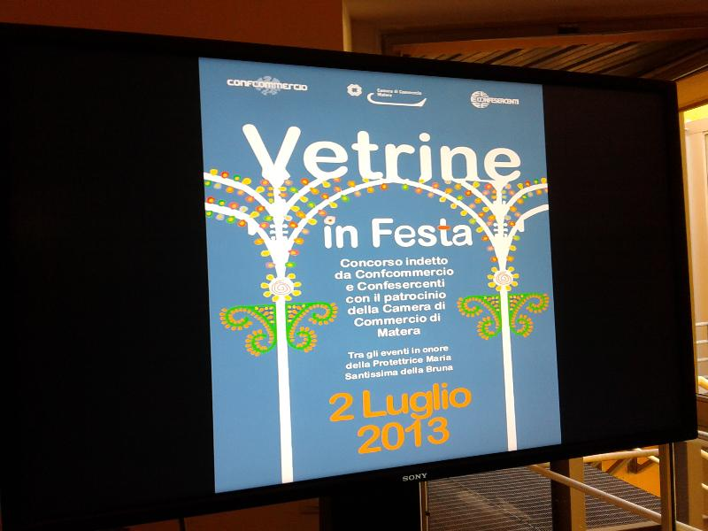 Vetrine in Festa 2013 (foto SassiLand)