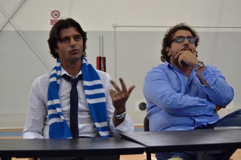 Vincenzo Cosco e Saverio Columella (foto Francesco Calia)