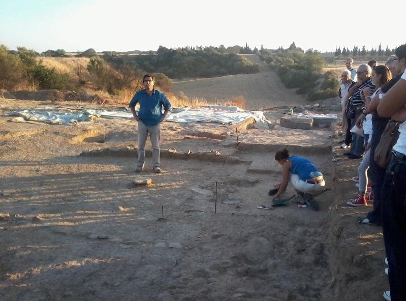 Visita agli scavi dell´Incoronata di Pisticci