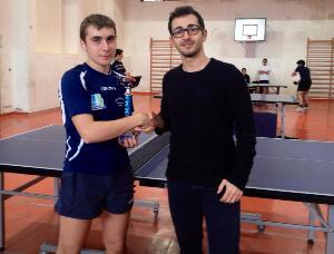 ASD Tennistavolo Pegasus, Antonio Consoli Primo Juniores - Matera