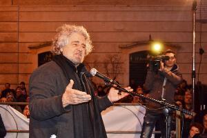 Beppe Grillo a Matera - 20 gennaio 2012 - Matera