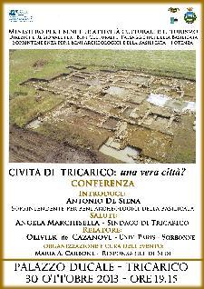 Civita di Tricarico: una vera città? - 30 ottobre 2013 - Matera