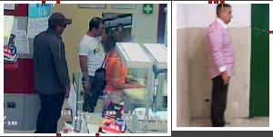 Comparazione dei due rapnatori ripresi dalle telecamere della MPS