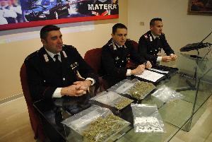 Conferenza stampa dei Carabinieri - 19 febbraio 2013 (foto SassiLand)