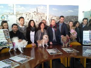 """conferenza stampa di presentazione associazione """"Il Branco"""" - 20 dicembre 2013 (foto SassiLand) - Matera"""