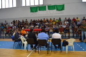 Conferenza stampa Matera Calcio - 19 luglio 2013 (foto Francesco Calia)