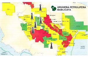 Gruviera petrolifera in Basilicata - immagine di repertorio - Matera