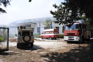 Foto di repertorio - Incedio alla ex centrale del latte - 5 luglio 2013 (foto SassiLand)