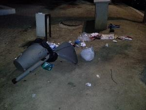 Incidente in via Marconi - 2 novembre 2013 (foto SassiLand)
