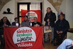 Incontro elettorale con Sinistra Ecologia e Libert� - 9 febbraio 2013 (foto SassiLand) - Matera