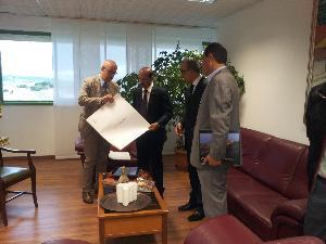 Incontro in municipio con la delegazione giordana - 4 giugno 2013