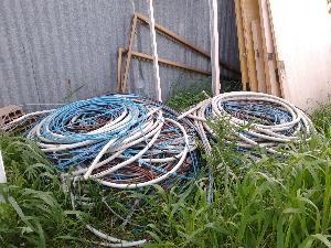Materiale ferroso rubato in cantiere a Matera - 8 aprile 2013