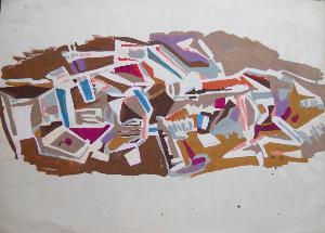 Opera di Carla Accardi