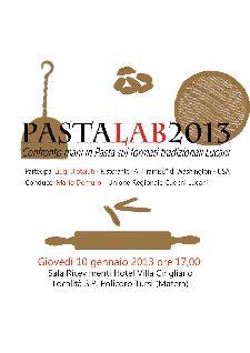 PASTAlab2013  - Matera