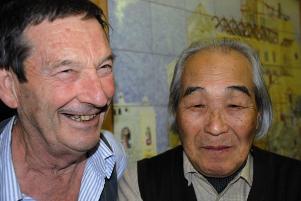 Peppino Mitarotonda e Kengiro Azuma