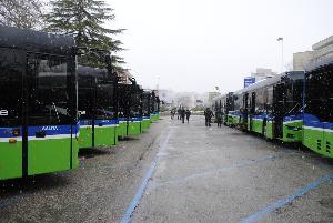 Presentazione dei nuovi autobus delle FAL (foto SassiLand)