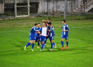 Scirea Cup 2013, esultanza Spogaric Osijek