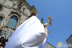 Statua della Madonna - Festa della Bruna 2013 (foto SassiLand) - Matera