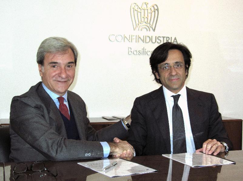 Accordo tra Equitalia Sud e Confindustria Basilicata
