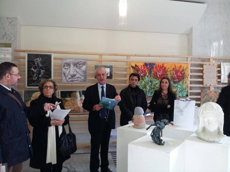 Artisti per vico Piave - conferenza di presentazione - 26 febbraio 2014