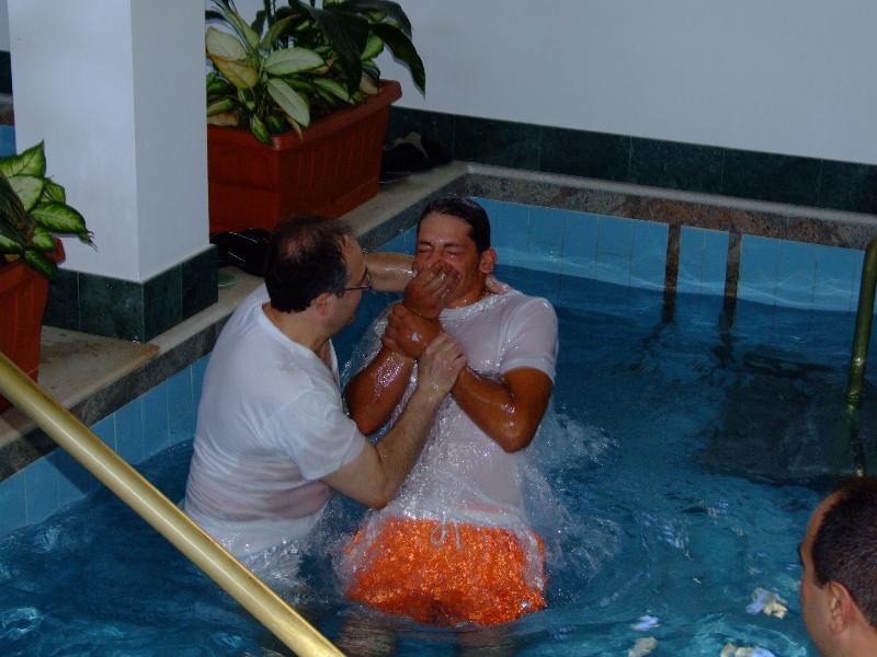 Battesimo dei Testimoni di Geova