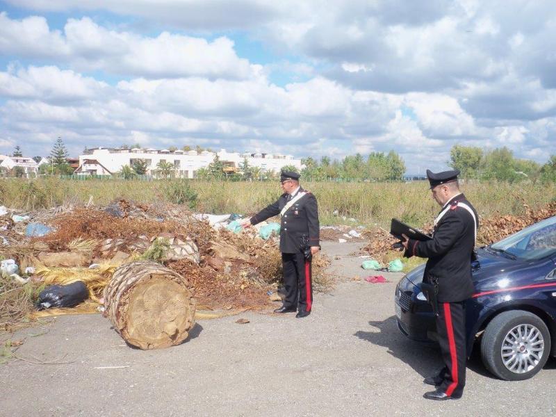 Carabinieri individuano sito di rifiuti abbandonati