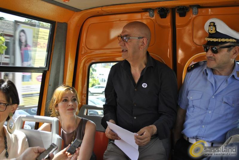 Conferenza stampa di presentazione su nuova mobilità nei Sassi di Matera - 21 agosto 2014 (foto SassiLand)