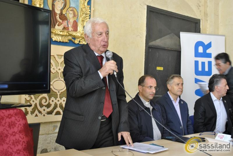 Conferenza stampa di presentazione del tema del Carro Trionfale 2015 - Festa della Bruna - 2 ottobre 2014 (foto SassiLand)
