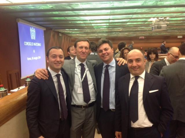 Da sinistra Lorenzo Pagliuca, Marco Gabriele Gay e Rocco Talucci