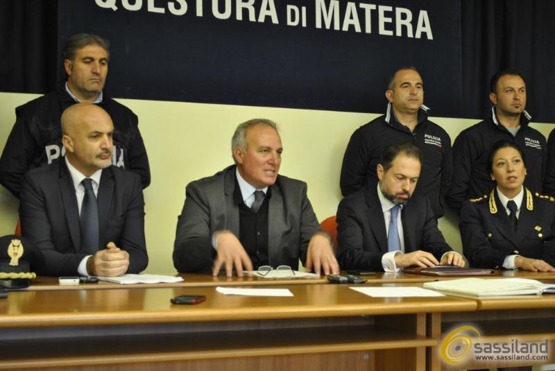 Da sinistra Roberto Cirelli, Stanislao Schimera, Dario Sallustio e Luisa Fasano (foto SassiLand)