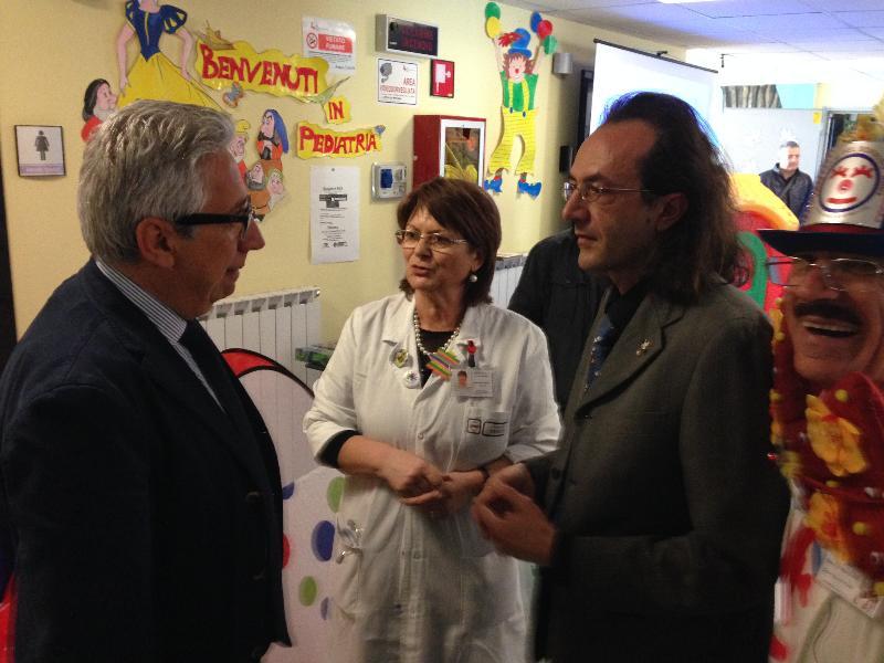 Da sinistra Rocco Maglietta,  Maria Cristina Mencoboni e Domenico Lamagna