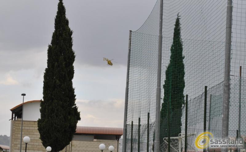Elisoccorso a La Martella (foto SassiLand)