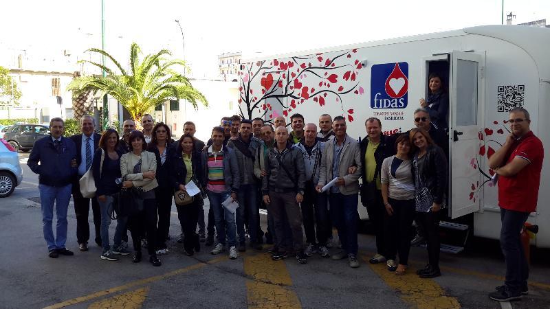 GIORNATA DELLA DONAZIONE DEL SANGUE IN QUESTURA - 1 ottobre 2014